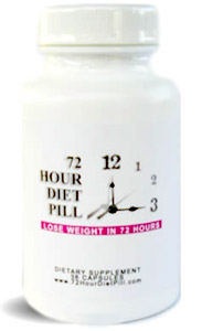 72 hour diet pill
